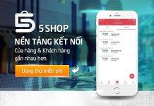5SHOP - ứng dụng quản lý và tích điểm khách hàng miễn phí cho shop thời trang