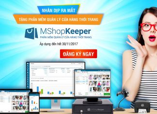 Miễn phí Phần mềm quản lý MShopKeeper cho các chủ shop thời trang