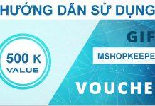 Làm thế nào để sử dụng voucher khi mua MShopKeeper ?