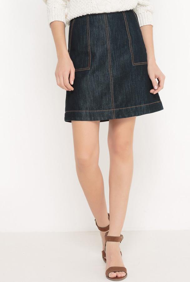 Chân váy ngắn hình chữ A