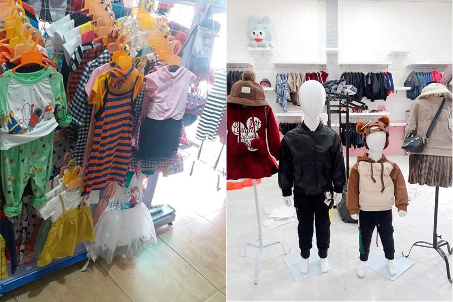 mở cửa hàng thời trang trẻ em