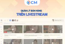 Quản lý bán hàng trên Livestream thật đơn giản