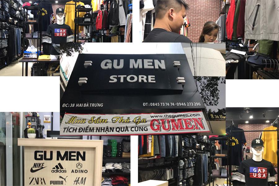 cửa hàng thời trang nam Gu Men Store