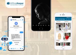 ứng dụng điện thoại cho shop thời trang
