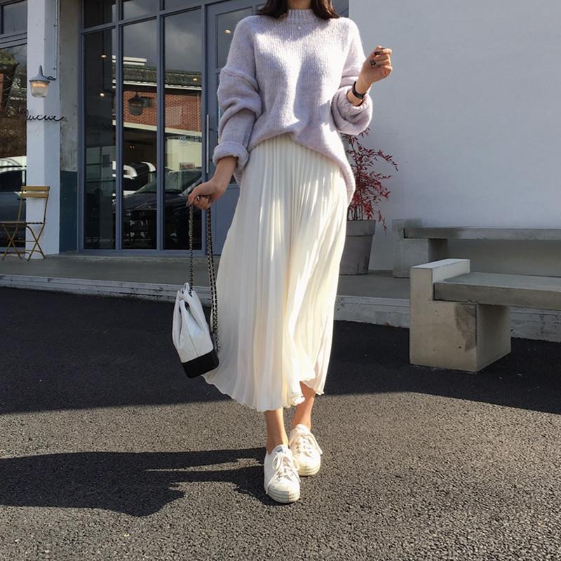 mẫu chân váy hot trên taobao