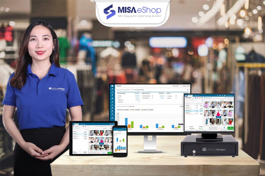 MISA eShop - phần mềm bán hàng đa kênh chuyên nghiệp nhất