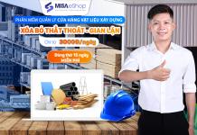 phần mềm quản lý cửa hàng vật liệu xây dựng