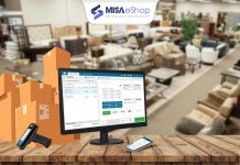 phần mềm quản lý cửa hàng nội thất