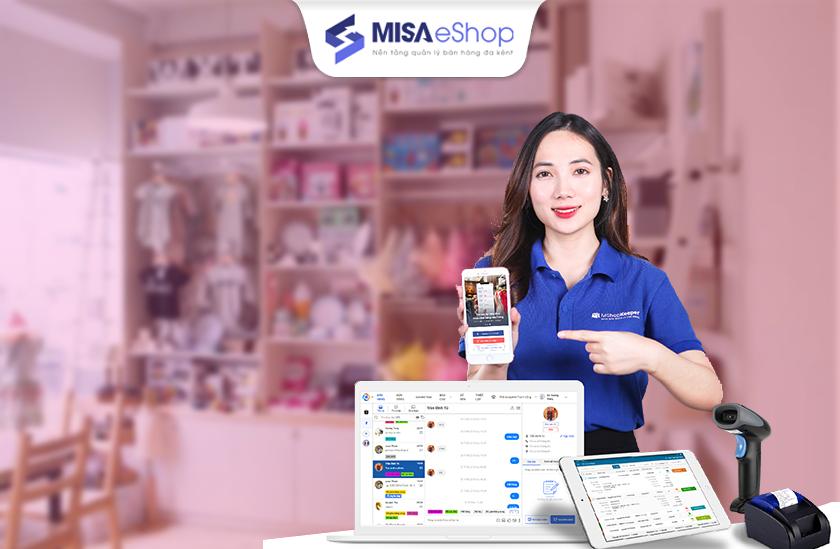 phần mềm quản lý cửa hàng mẹ và bé