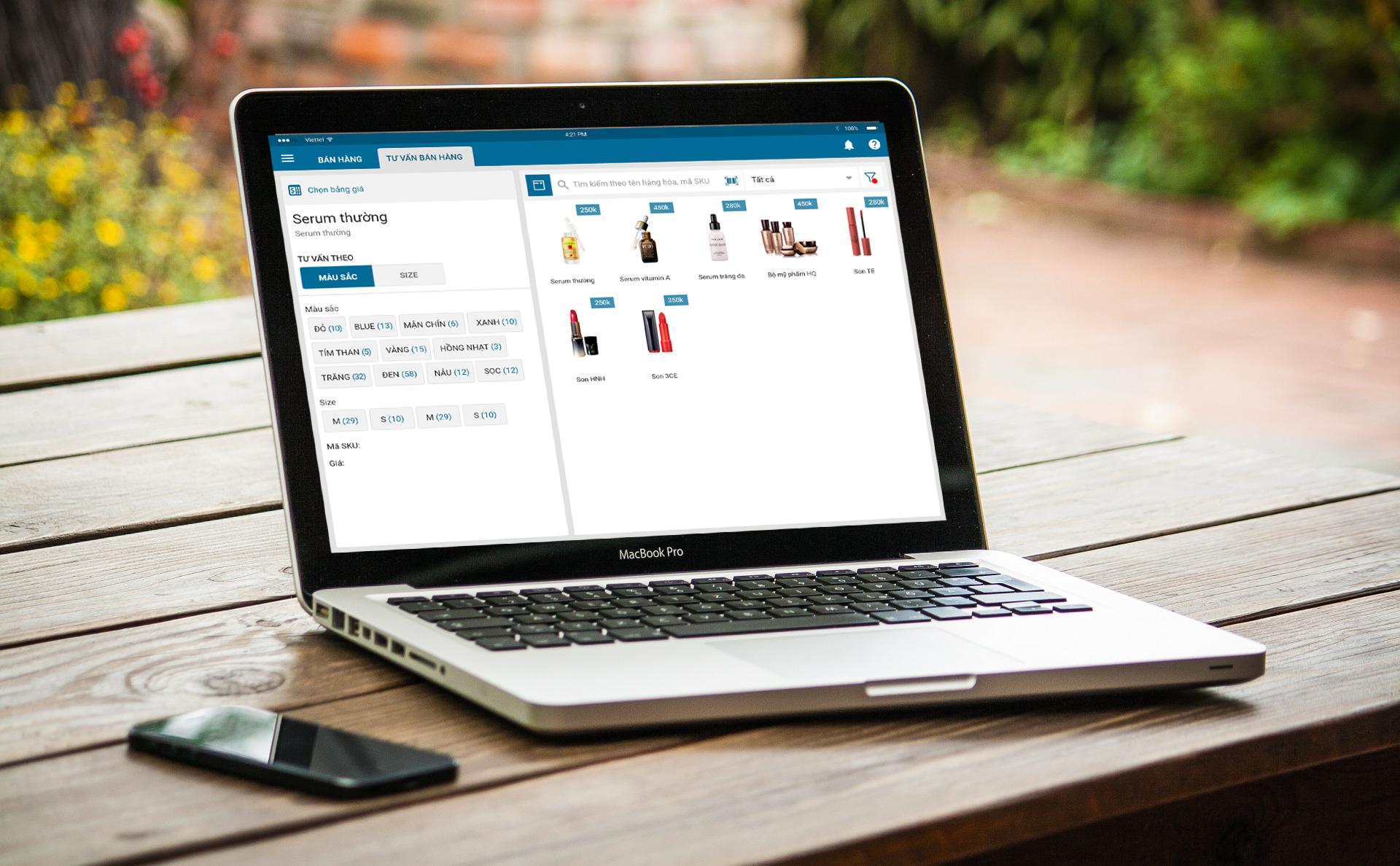 Phần mềm quản lý bán hàng MISA eShop