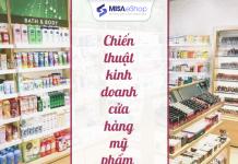 kinh doanh cửa hàng mỹ phẩm