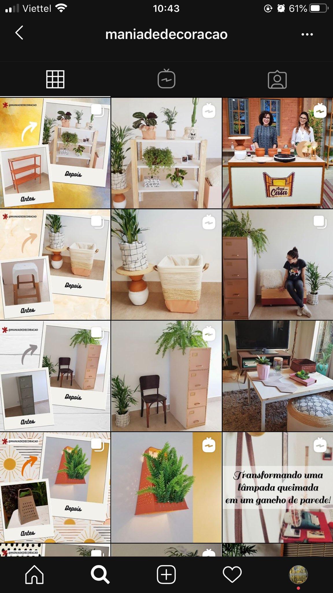 kinh doanh đồ trang trí trên Instagram