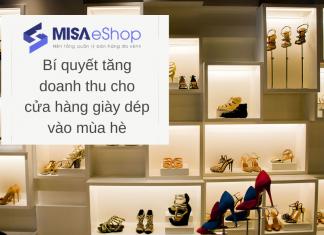 tăng doanh thu cửa hàng giày dép