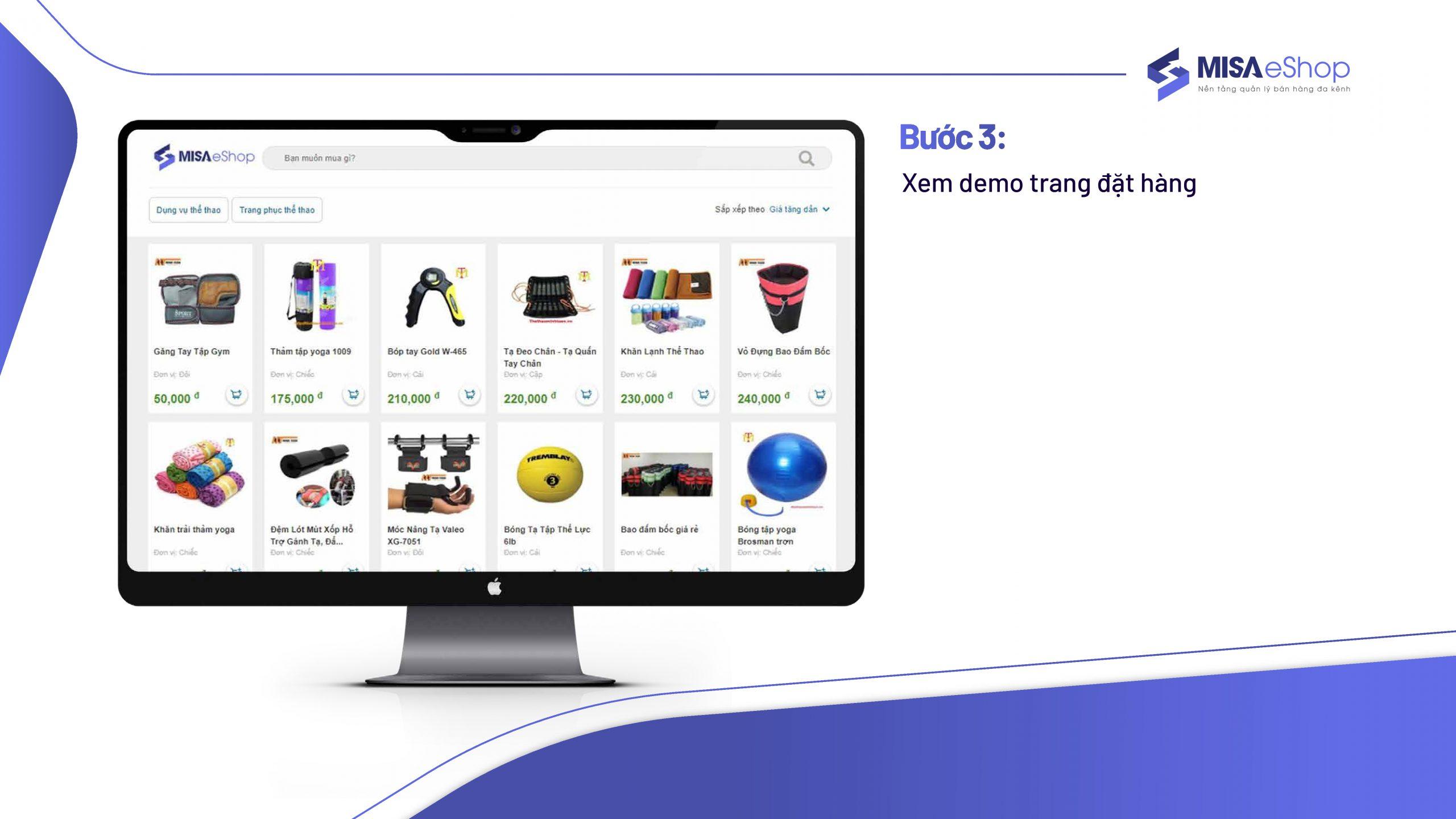 website đặt hàng online 3