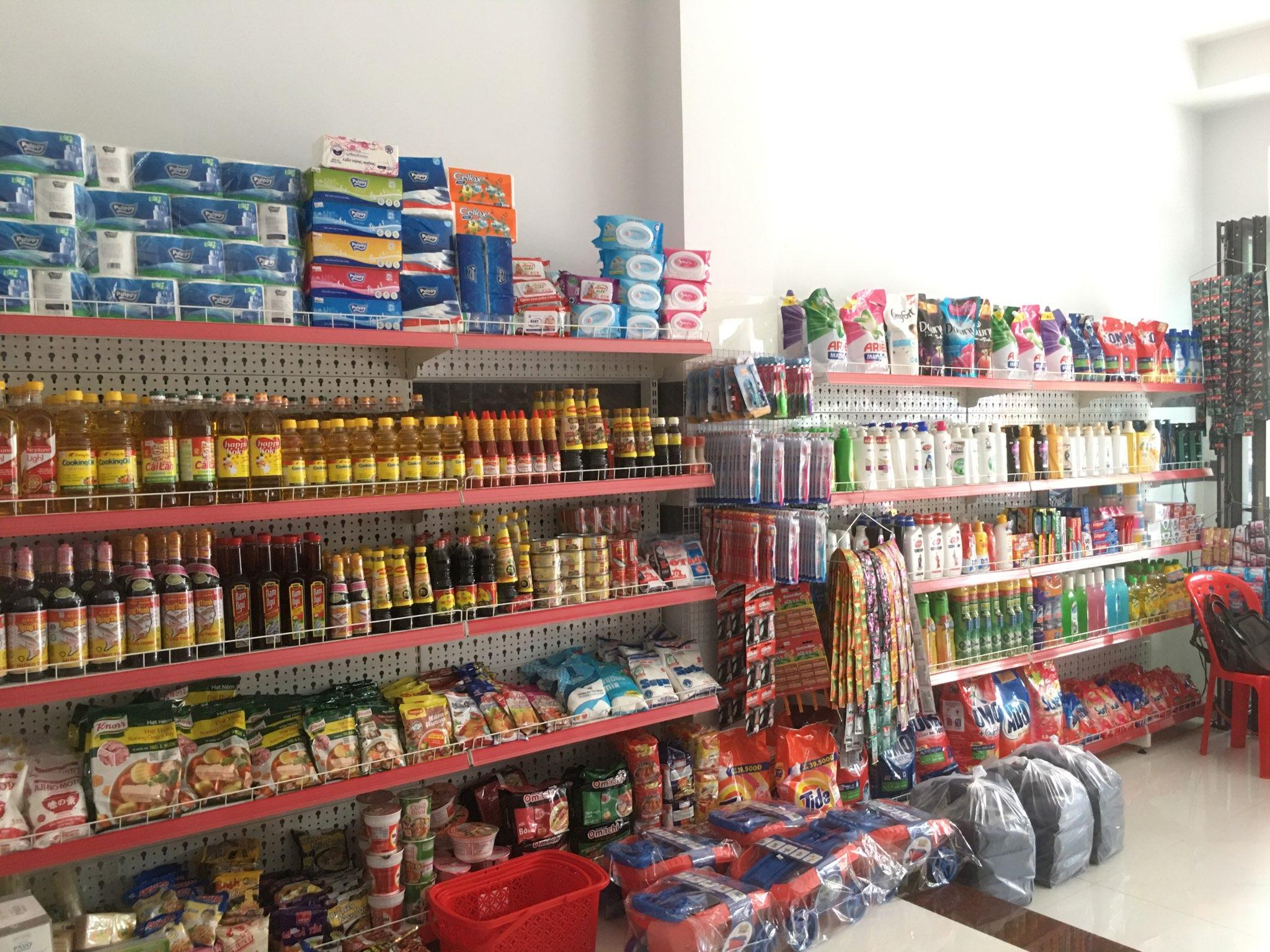 mở cửa hàng tạp hóa quy mô vừa và nhỏ