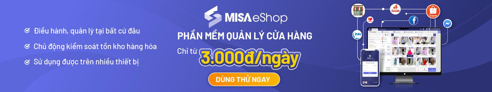 MISA eShop