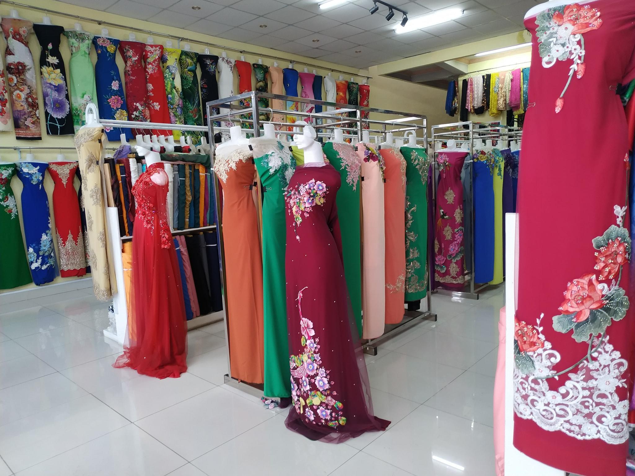 kinh doanh áo dài thiết kế
