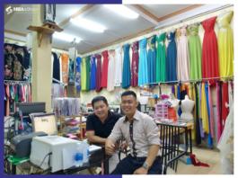 kinh doanh cửa hàng áo dài thiết kế