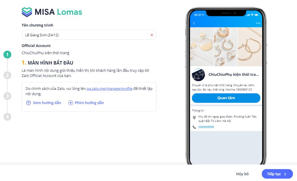 phần mềm bán hàng MISA eShop