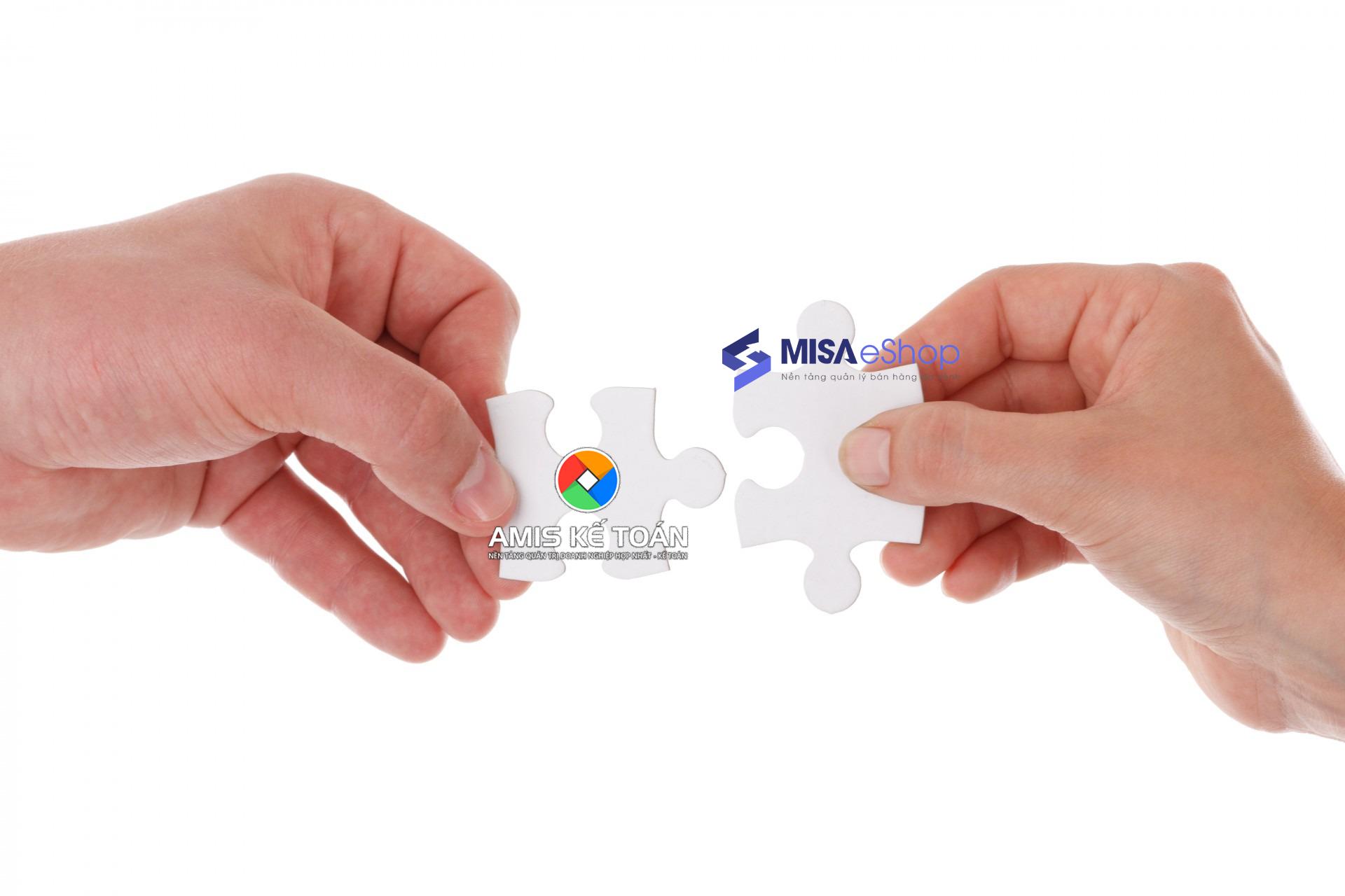 misa eshop kết nối amis kế toán