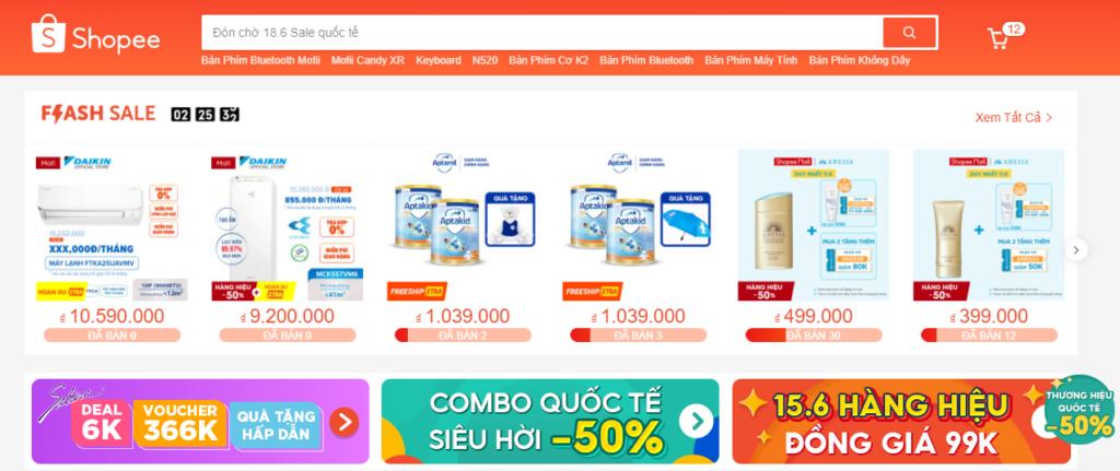 shopee kinh doanh online