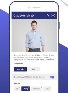 app tư vấn bán hàng trên điện thoại